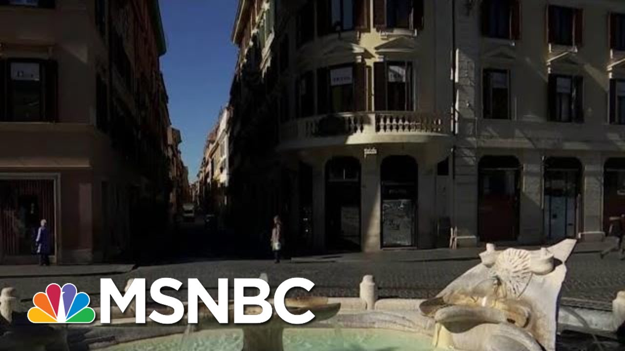 Italy Locks Down As Cases Surge 10 Percent From Last Week | MTP Daily | MSNBC 8