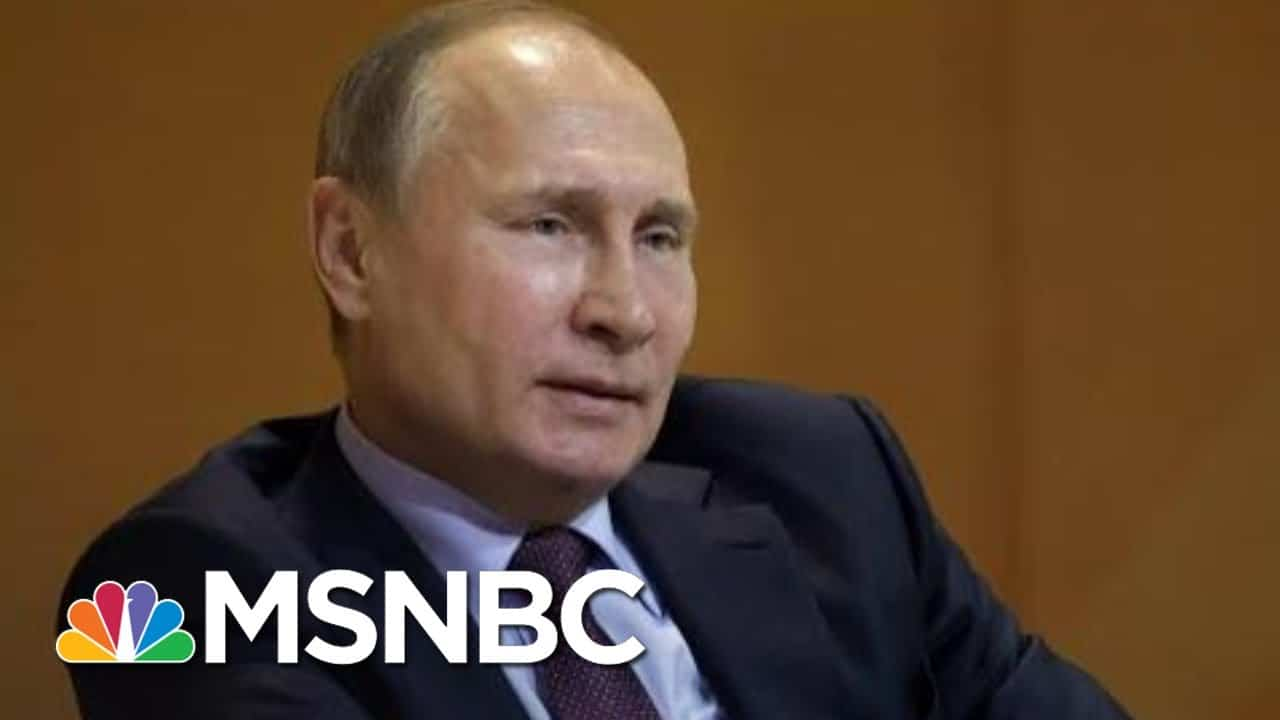 U.S. Intel Report Finds Russia And Iran Tried To Influence The 2020 Election   Katy Tur   MSNBC 9
