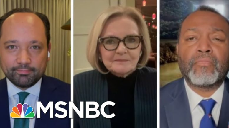 Feds: Intel Shows Russia Tried To Help Trump Win Again   The 11th Hour   MSNBC 1