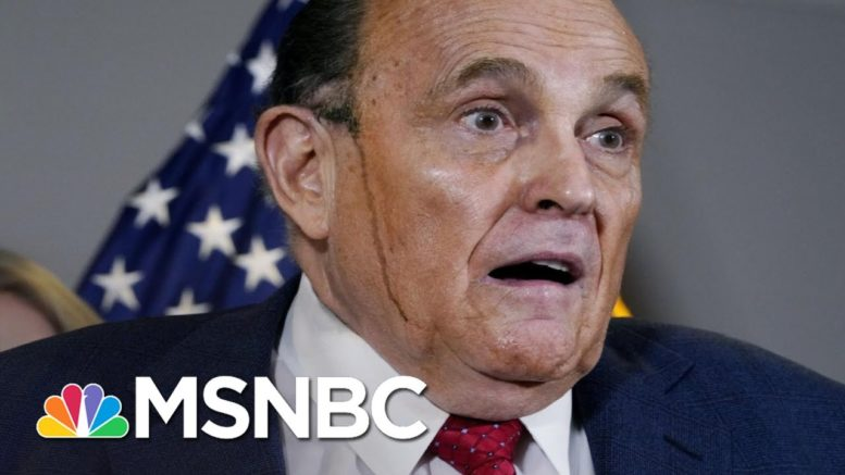 McCaskill: 'Treasonous' Giuliani Played Into Putin's Hand | The 11th Hour | MSNBC 1