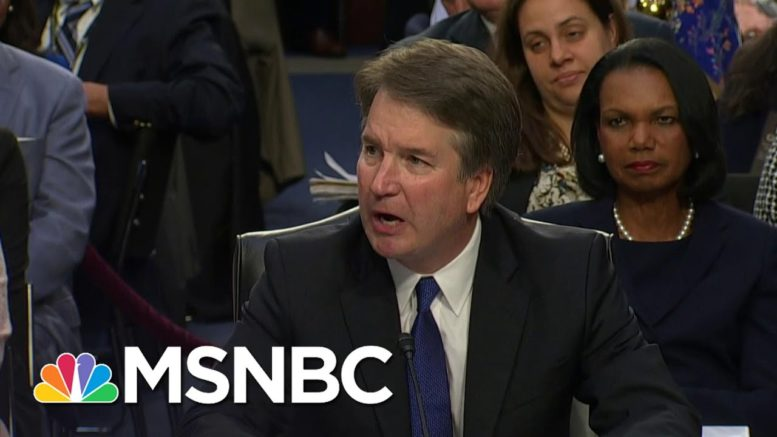 With Trump Acolytes Gone, Sen. WH Wants Answers On Kavanaugh Probe And More | Rachel Maddow | MSNBC 1