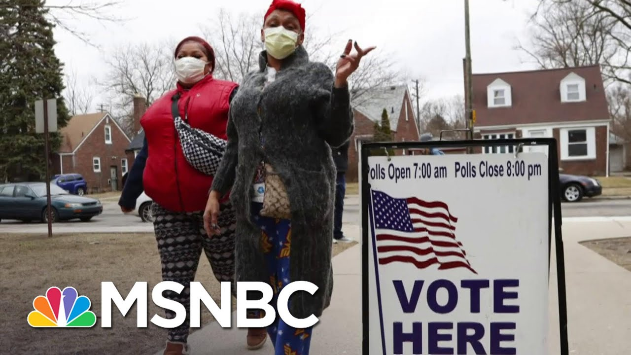 Longtime John Lewis Aide On Fight For Voting Rights   Craig Melvin   MSNBC 6