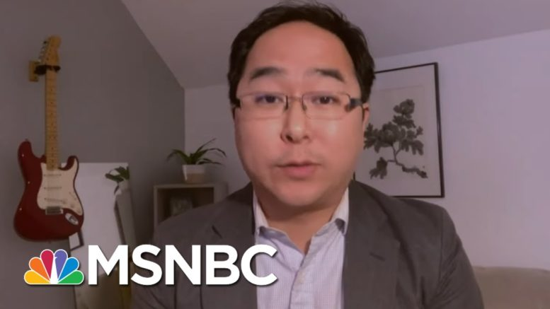 Rep. Andy Kim (D-NJ) On Atlanta Spa Shooting | Ayman Mohyeldin | MSNBC 1