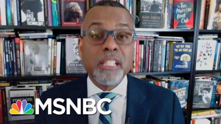 Eddie Glaude Calls Efforts To Limit Voting An 'Extension Of The Insurrection'   Deadline   MSNBC 1