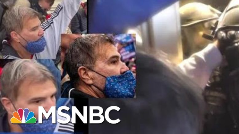 FBI Releases New Videos Of Assaults On Officers During Capitol Riot | Craig Melvin | MSNBC 1