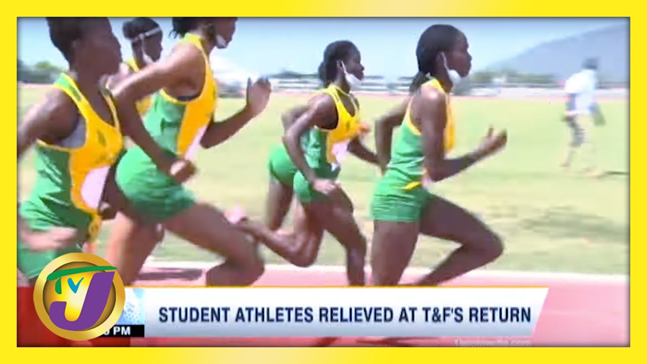 Student Athletes Relieved at Track & Field Return - February 27 2021 1