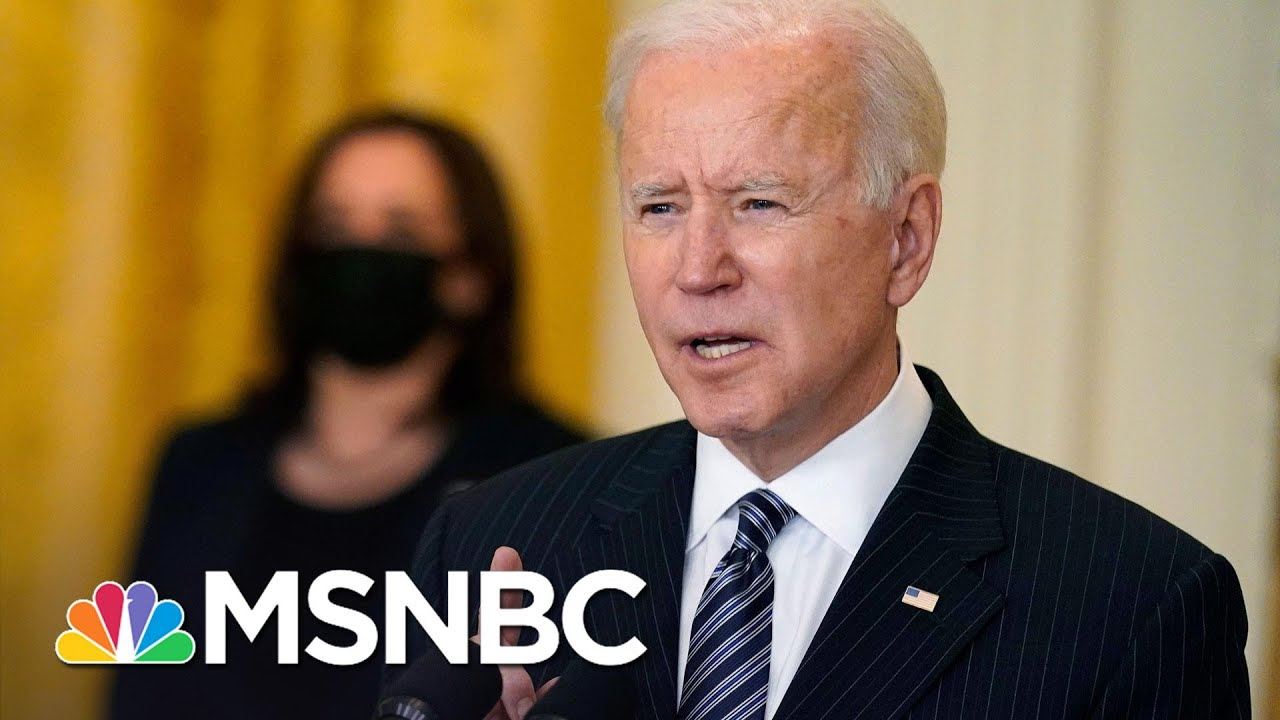 Biden Marks 100 Million Vaccines: 'We Will Not Stop Until We Beat This Pandemic' | MSNBC 1
