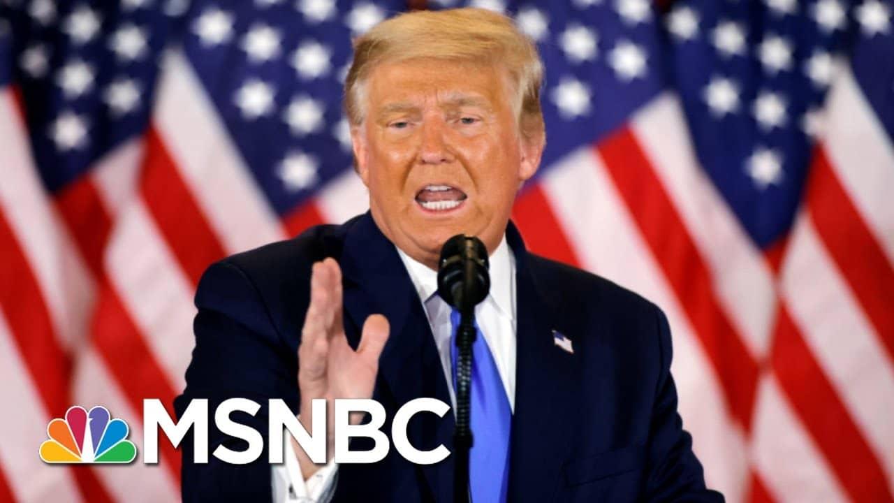 Trump Facing Indictment?: Money, Criminal Probes Engulf 45 | The Beat With Ari Melber | MSNBC 1