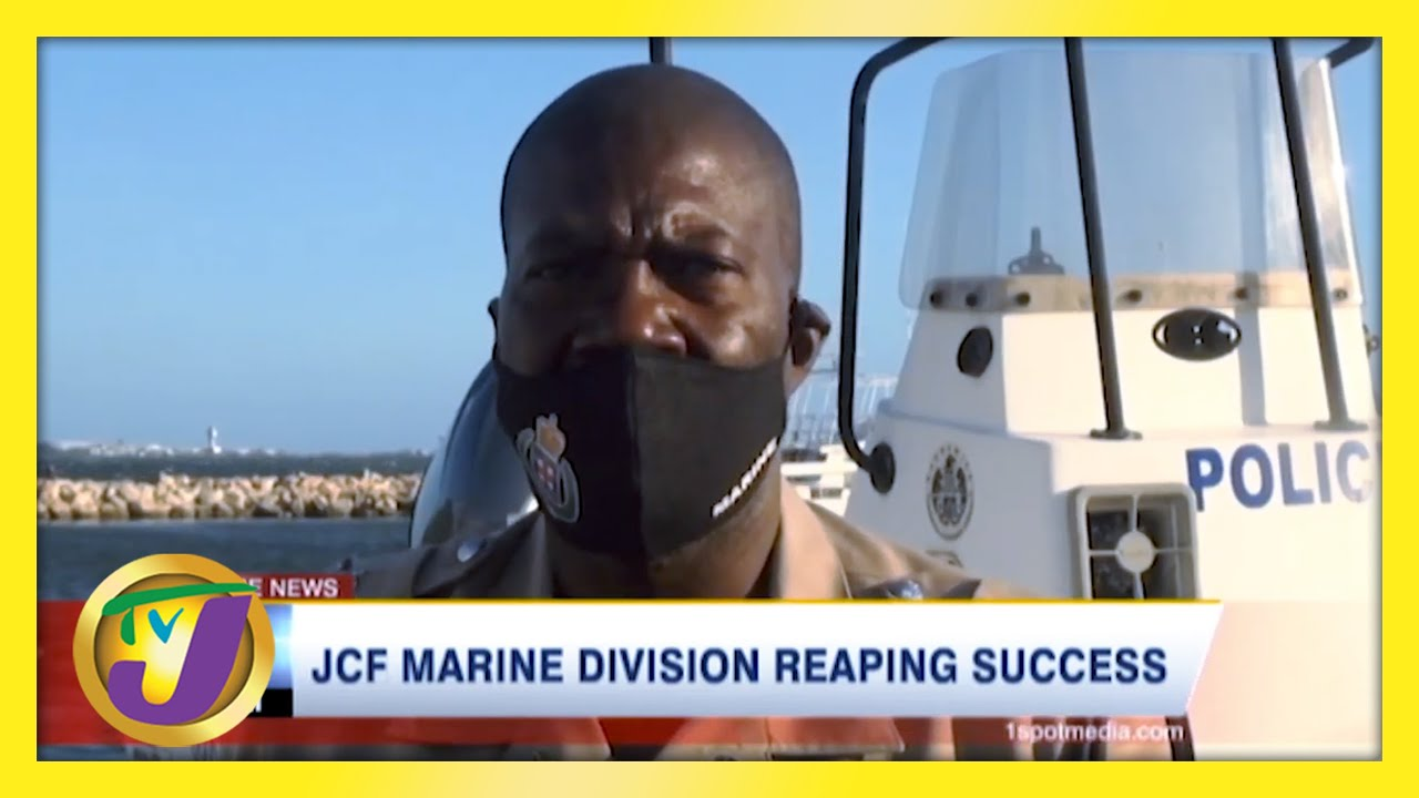 JCF Marine Division Reaping Success in Jamaica   TVJ News - February 28 2021 1