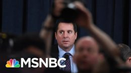 Nunes Questions Laid Bare As Trump Ear Obfuscation Lifts On U.S. Intel About Russia | Rachel Maddow 7
