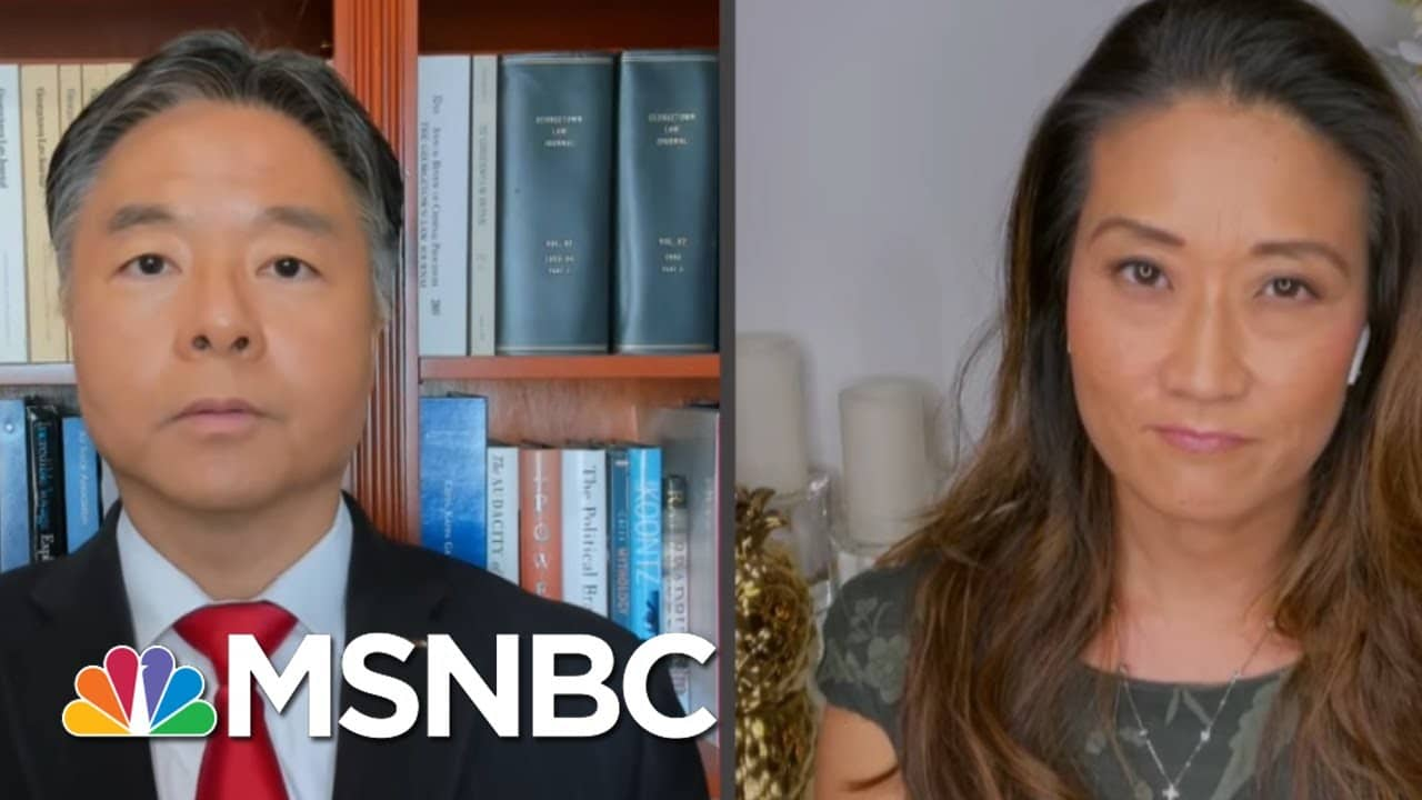 'I Am Not A Virus': Rep. Lieu Tells GOP To Stop Using Racist Terms   All In   MSNBC 1