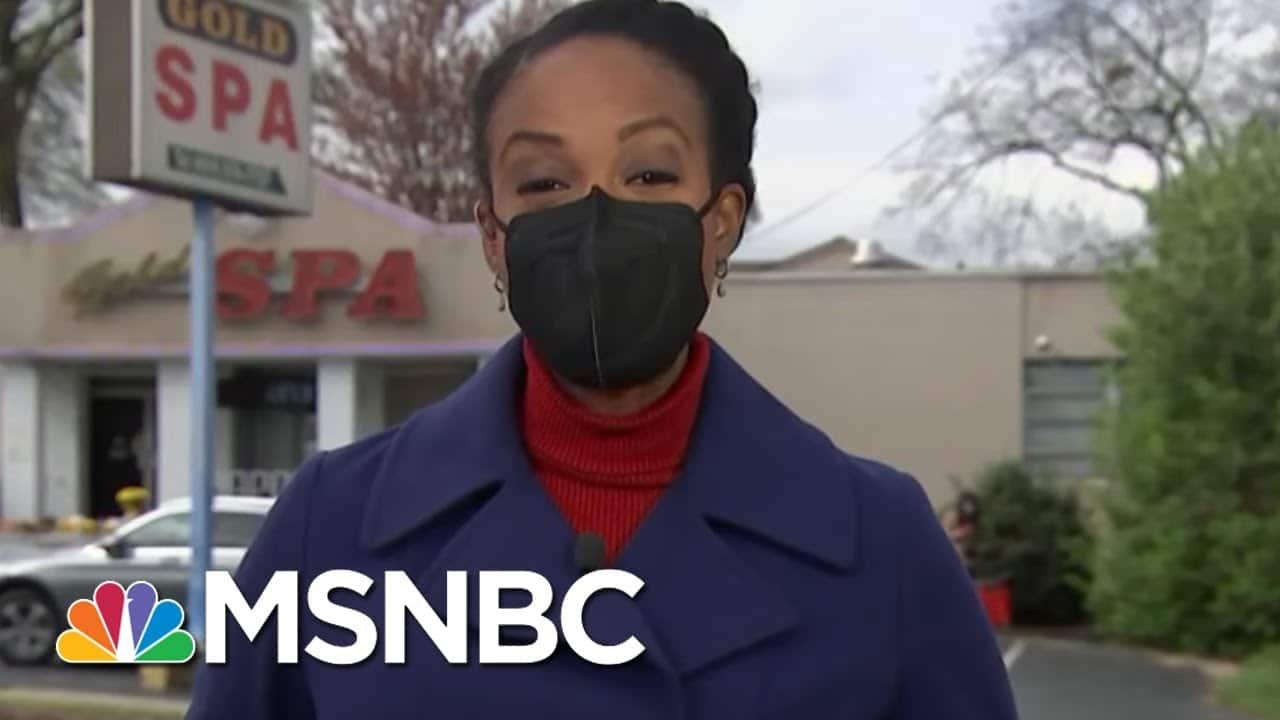 Medical Examiner Release Names Of Remaining 4 Atlanta Spa Victims   Craig Melvin   MSNBC 1