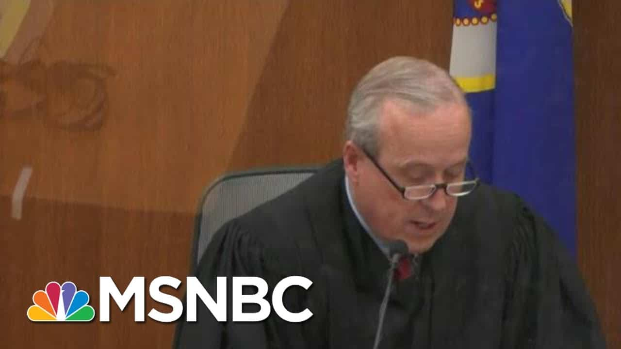 Judge Denies Motion To Move Or Delay Chauvin Trial | MTP Daily | MSNBC 1
