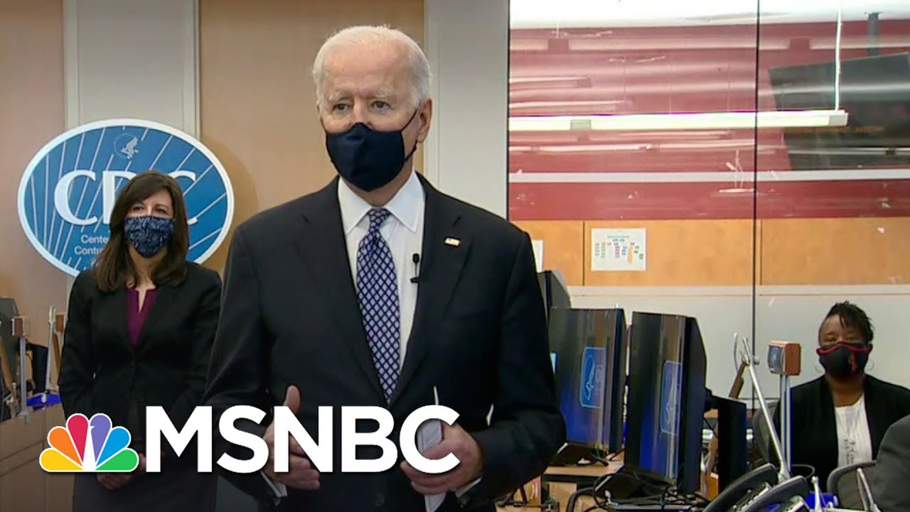 'Science Is Back': Biden Thanks CDC For Efforts Amid Covid Pandemic | MSNBC 1