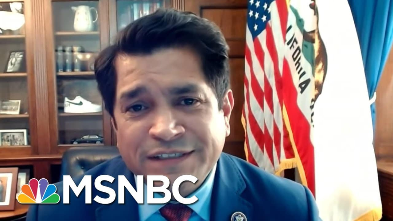 Rep. Gomez On Attacks Against Asian-Americans, Immigration Reform | Ayman Mohyeldin | MSNBC 1