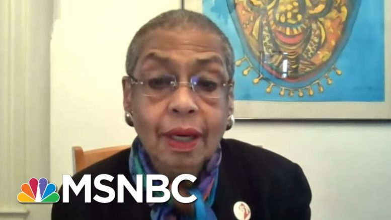 Rep. Eleanor Holmes Norton On DC Statehood, Capitol Hill Fences | Ayman Mohyeldin | MSNBC 1