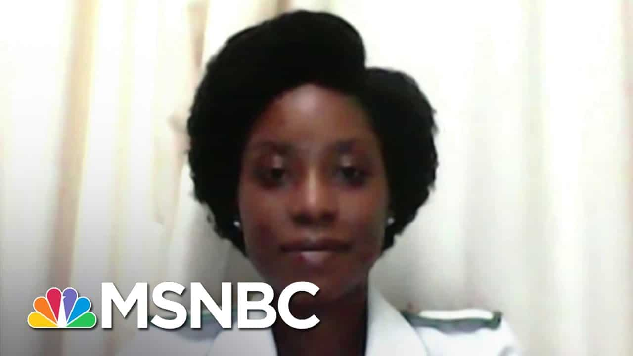Nurse In Malawi: 'We Can Defeat The Pandemic' With Arrival Of COVID Vaccine   The Last Word   MSNBC 1
