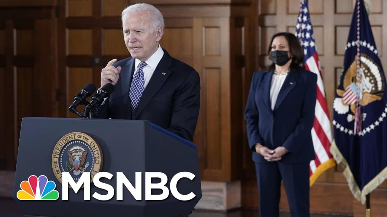 Biden And Harris Trip To Atlanta Was 'Incredibly Meaningful' | The 11th Hour | MSNBC 1