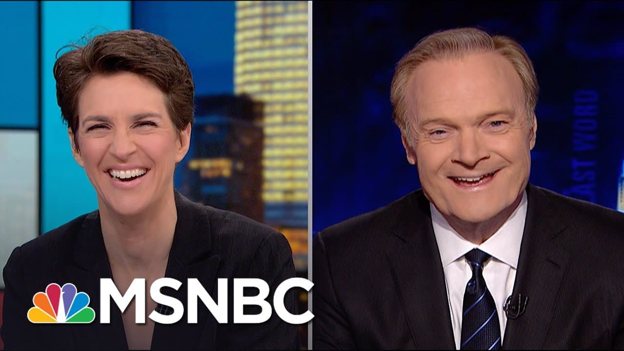 This is expecting a big crowd. | Rachel Maddow | MSNBC 1