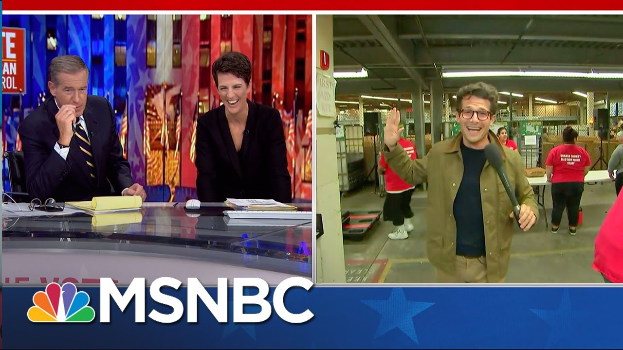 This is chasing democracy, one ballot at a time. | Jacob Soboroff | MSNBC 1