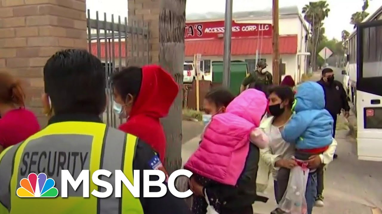 Migrants Surge At Southern Border Due To Capacity Issues in Mexico   MSNBC 1