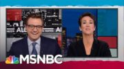 This is subtly getting the scoop. | Rachel Maddow | MSNBC 2