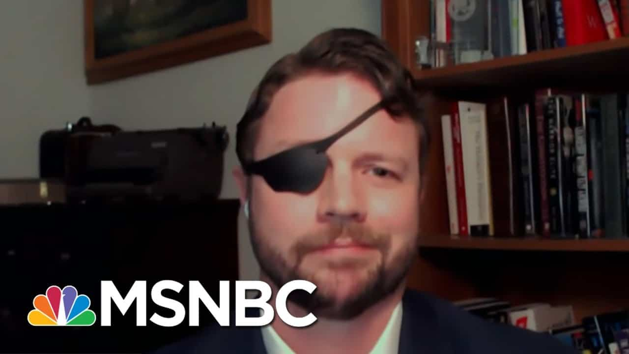 Mehdi Hasan Clashes With GOP Rep. Crenshaw On Immigration | MSNBC 1