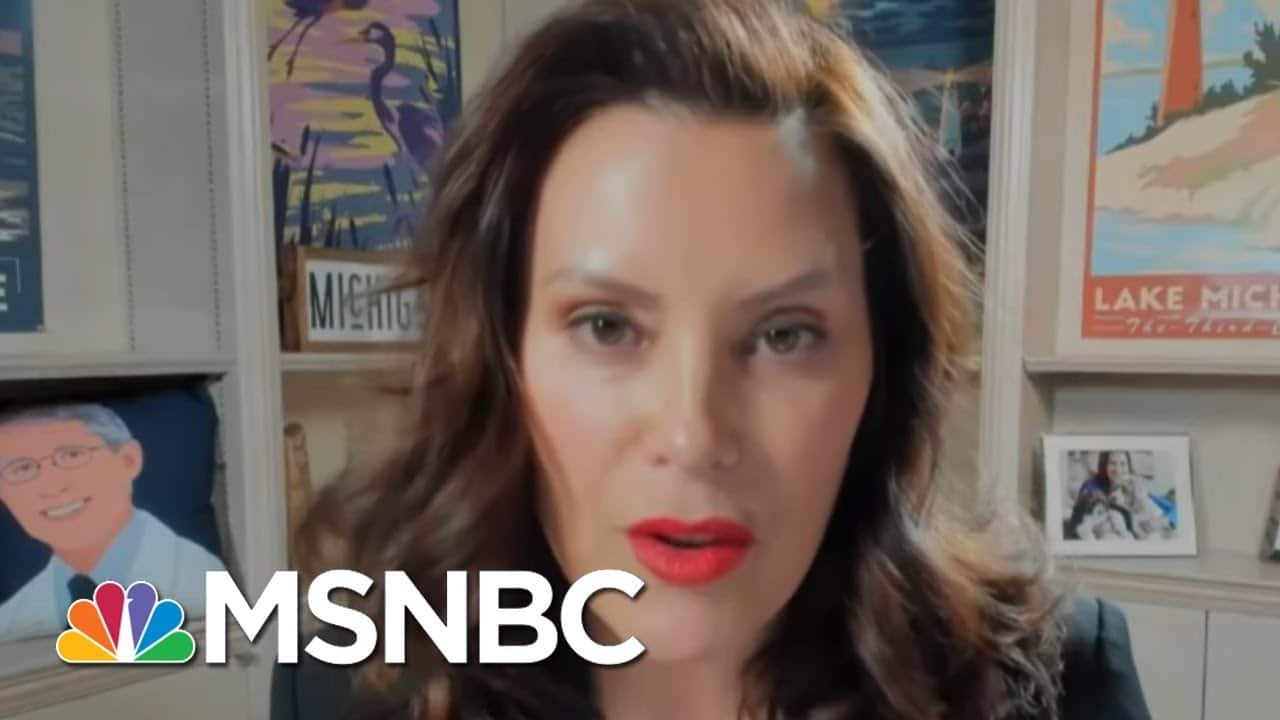 MI Governor Gretchen Whitmer Speaks About Her State's Covid Response Amid Surge In Cases | MSNBC 1