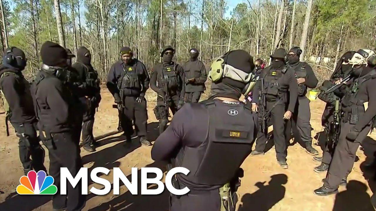 NFAC Leader On Militia Name Meaning | Craig Melvin | MSNBC 1