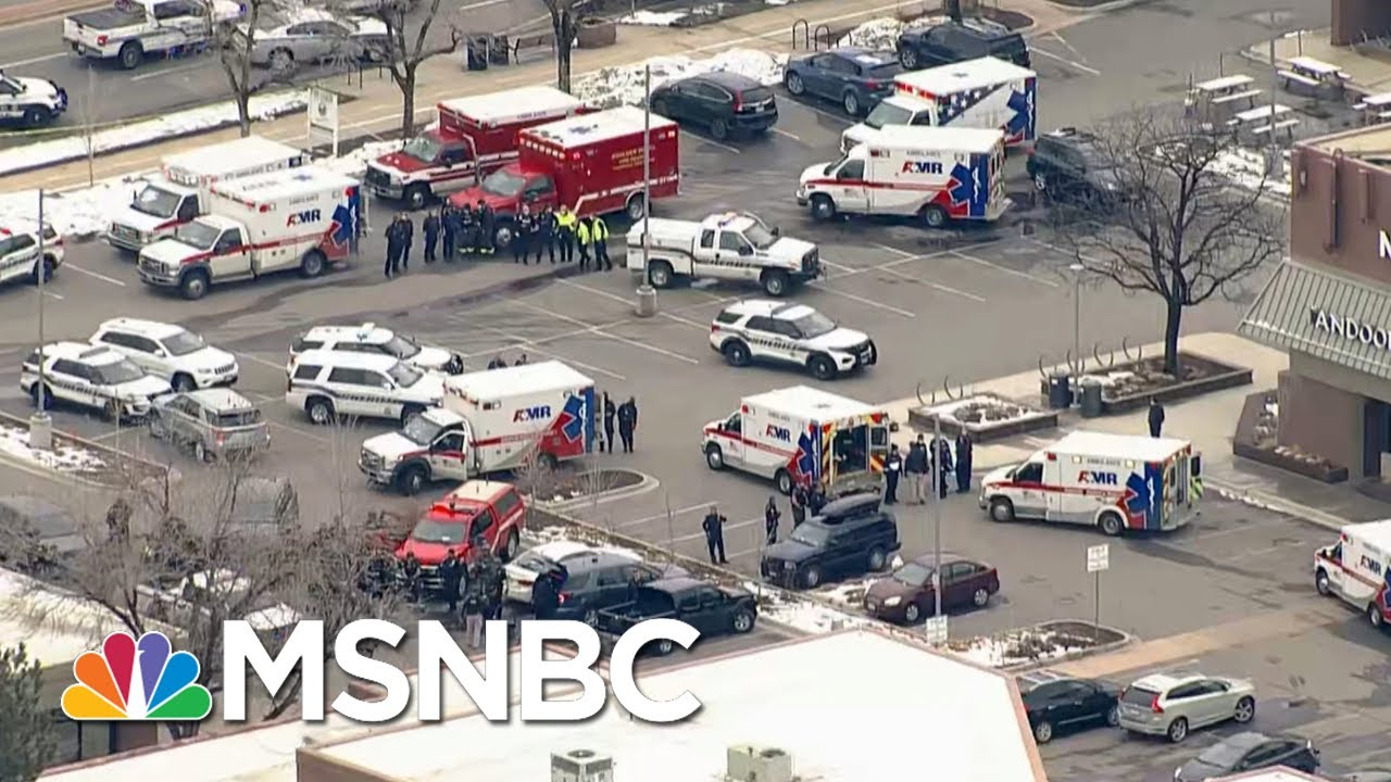 Reported Active Shooter At Grocery Store In Boulder, Colorado | The Beat With Ari Melber | MSNBC 1