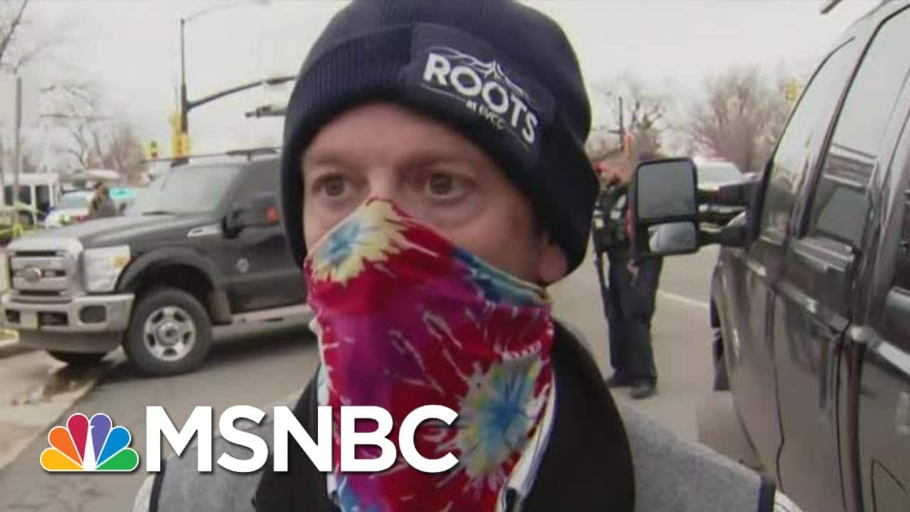 Witness Describes Colorado Grocery Store Shooting Scene | The Beat With Ari Melber | MSNBC 1