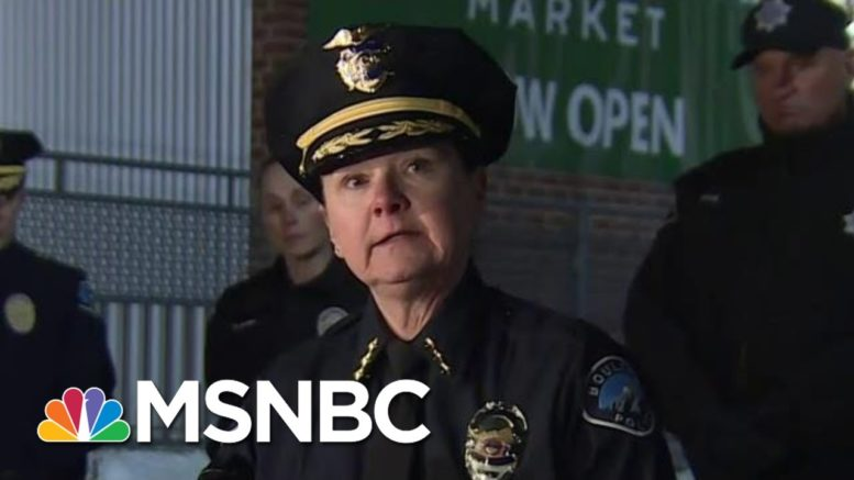 10 People Killed In Shooting At Boulder Grocery Store | MSNBC 1