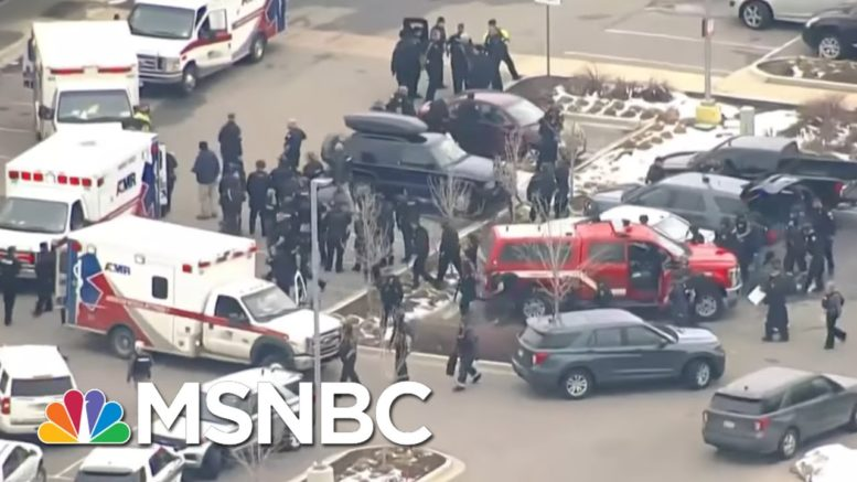 Witness Describes Early Moments Of Shooting At Boulder, Colorado Supermarket | Rachel Maddow | MSNBC 1