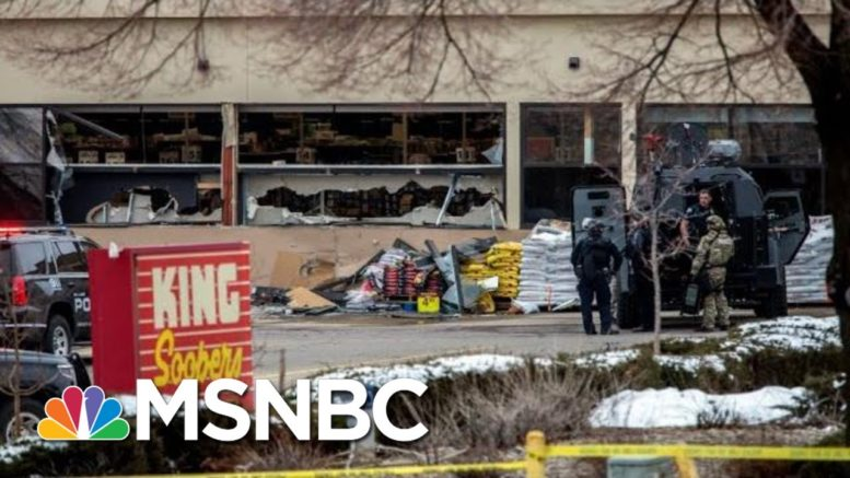 Rep. Joe Neguse: We're 'Heartbroken' Over Boulder Shooting   The 11th Hour   MSNBC 1