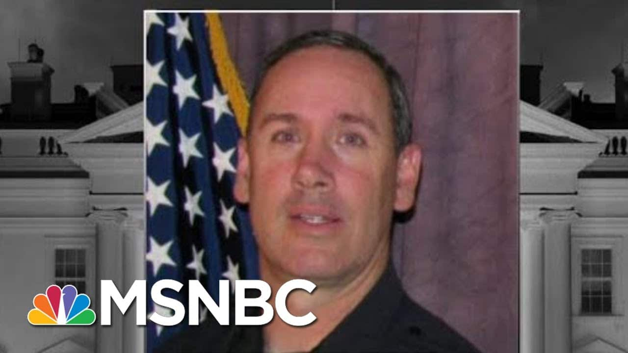Slain Boulder Policeman Eric Talley Was A Dad To Seven Kids   The 11th Hour   MSNBC 1