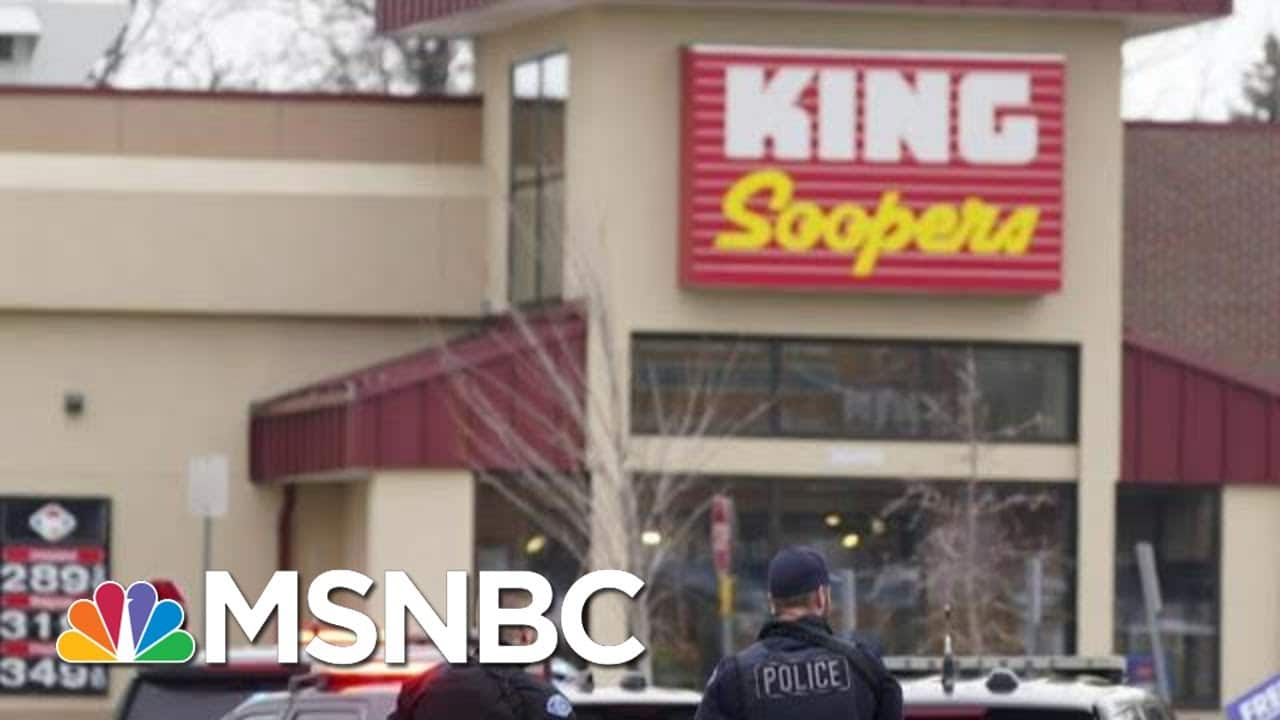 10 People Dead, Including Police Officer, After Shooting At Colorado Grocery Store   Morning Joe 1
