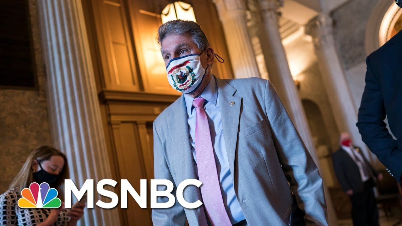 Manchin 'Doesn't Support' House Universal Background Check Bill   MTP Daily   MSNBC 1