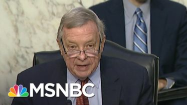 Sen. Durbin Condemns 'Epidemic' Of Gun Violence In Senate Hearing | Katy Tur | MSNBC 6