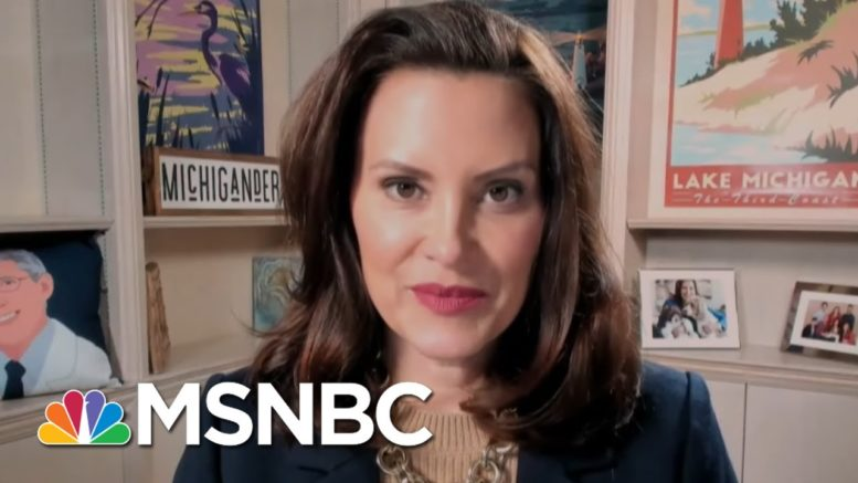 Gov. Whitmer Talks Infrastructure, Guns, And Rising Covid Numbers In Her State | Katy Tur | MSNBC 1