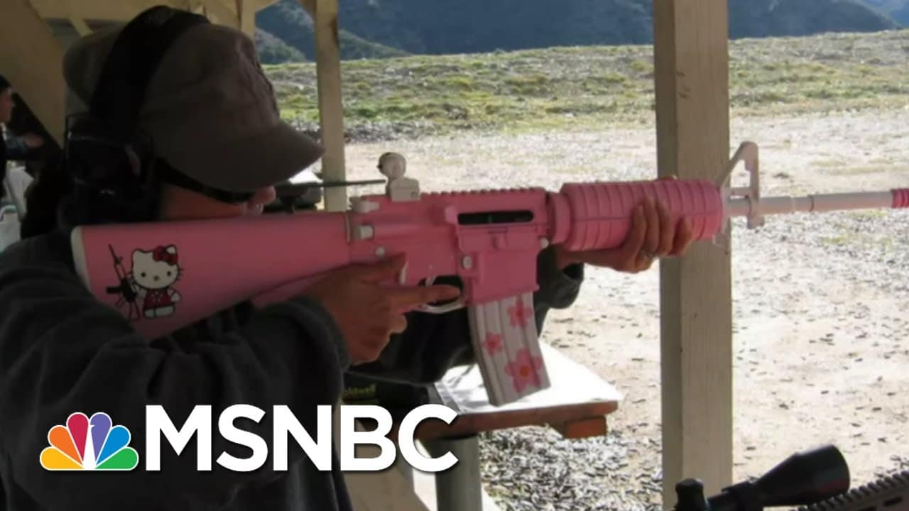 AR-15s Are Weapons Of War - Here's The Proof | The Beat With Ari Melber | MSNBC 1