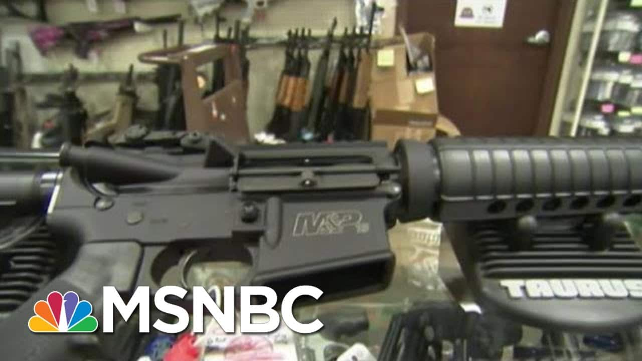 Here's Proof That AR-15s Are Weapons Of War | The Beat With Ari Melber | MSNBC 1