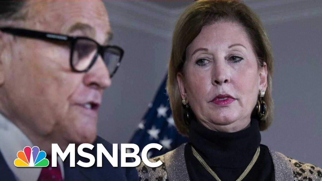 Ex-Trump Lawyer Admits Big Lie Was Lie | All In | MSNBC 1