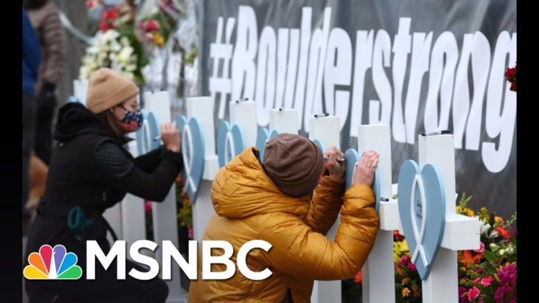 Polis Reacts To Colorado's 'Horrific' Mass Shooting History | The 11th Hour | MSNBC 1