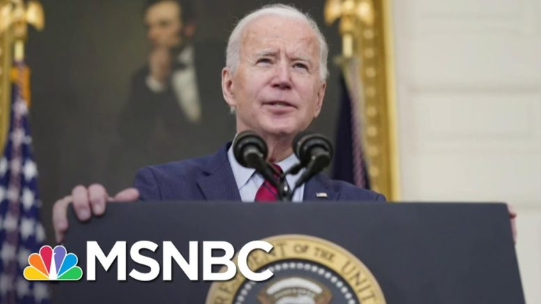 Biden Pushed Gun Control As Senator, VP, And Now President   The 11th Hour   MSNBC 1