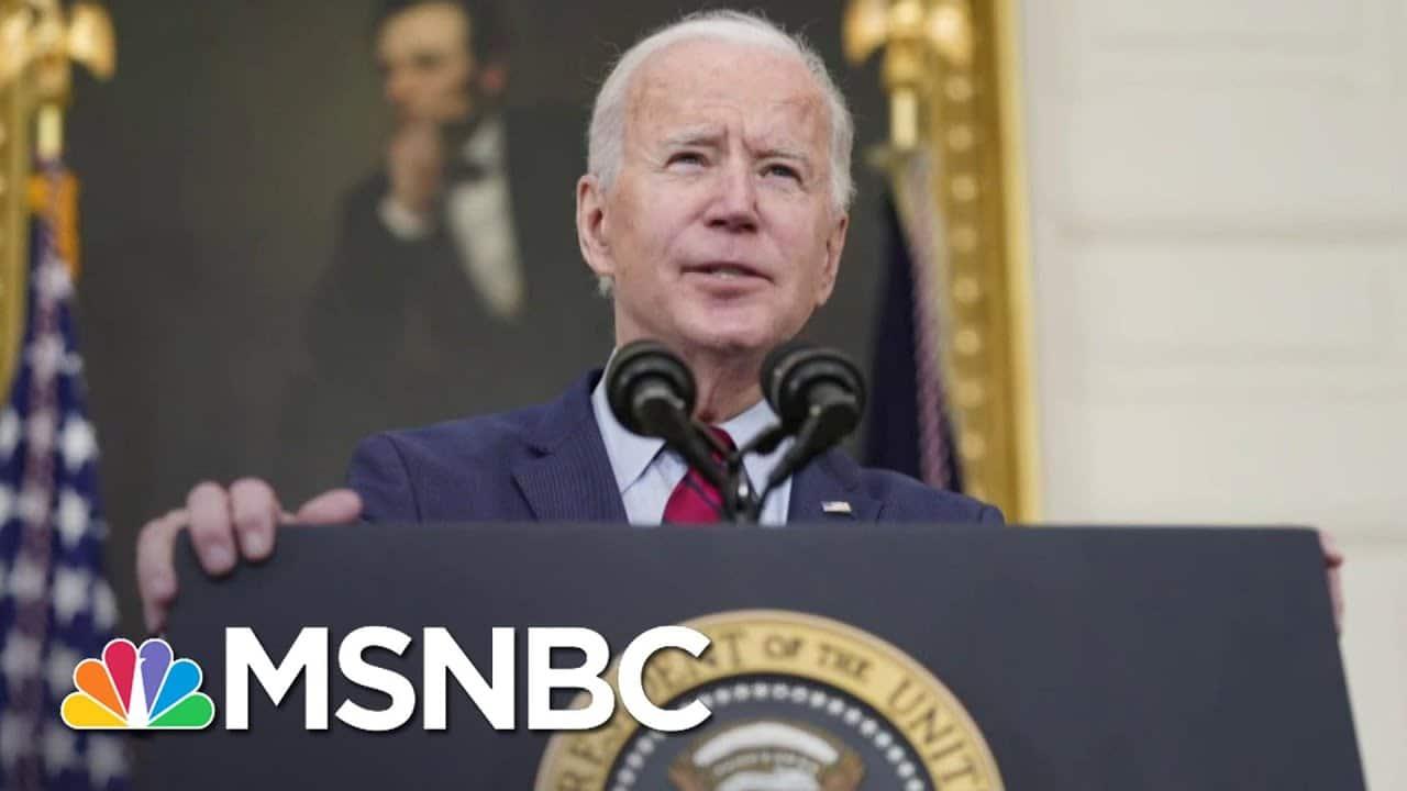 Biden Pushed Gun Control As Senator, VP, And Now President | The 11th Hour | MSNBC 1