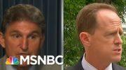 How Manchin & A Broken Senate Squandered U.S. Will For Gun Reform After Sandy Hook | Rachel Maddow 5