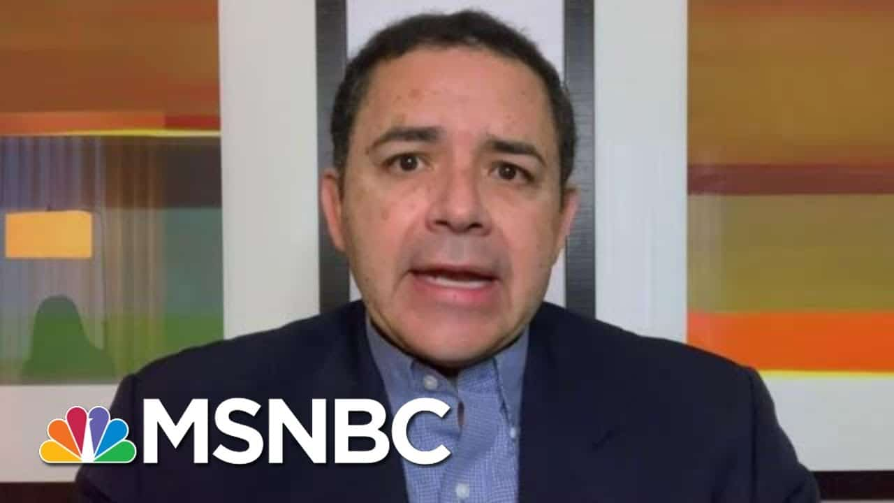 Rep. Cuellar On Border Crisis, Messaging And How To Slow Crossings   Morning Joe   MSNBC 1