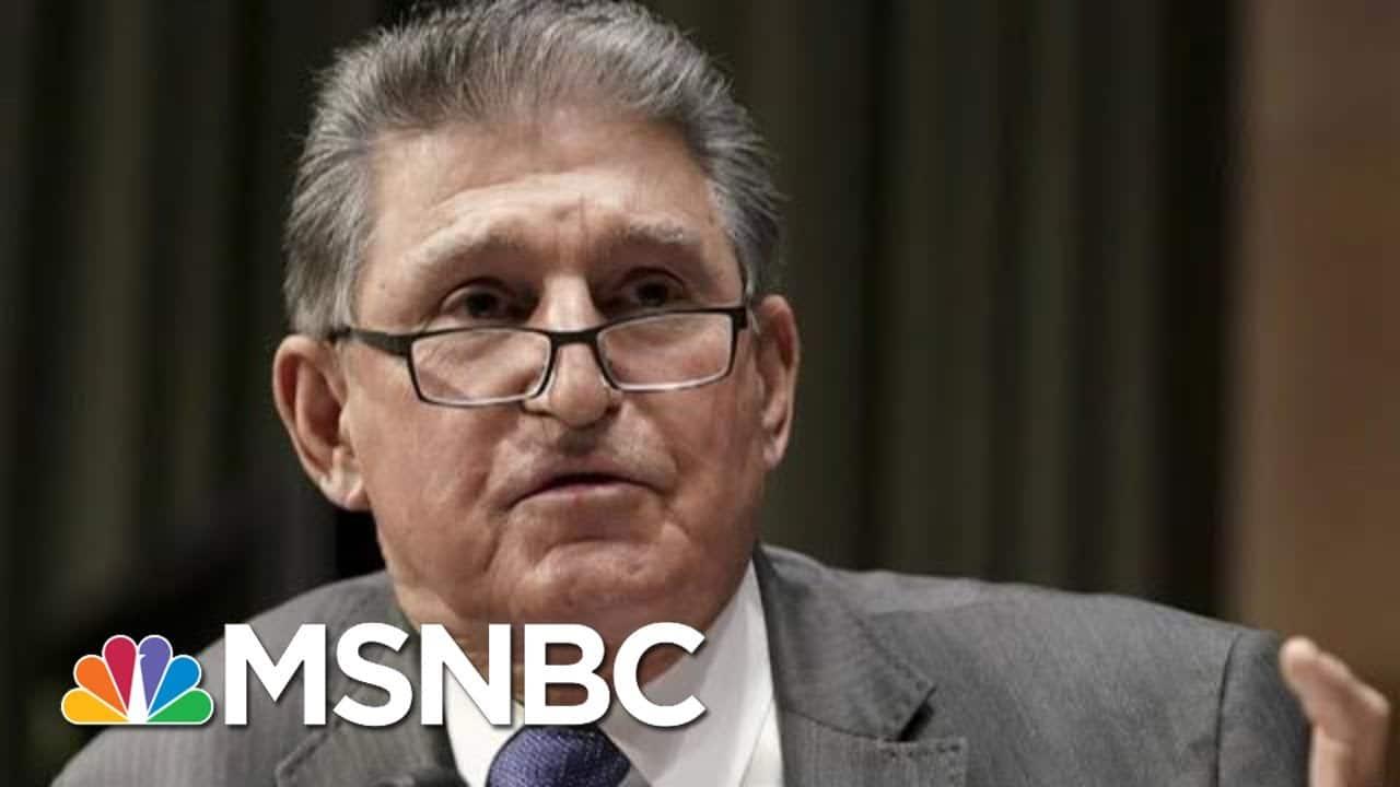 Manchin Remains Quiet On Democrats' Voting Bill   MTP Daily   MSNBC 1