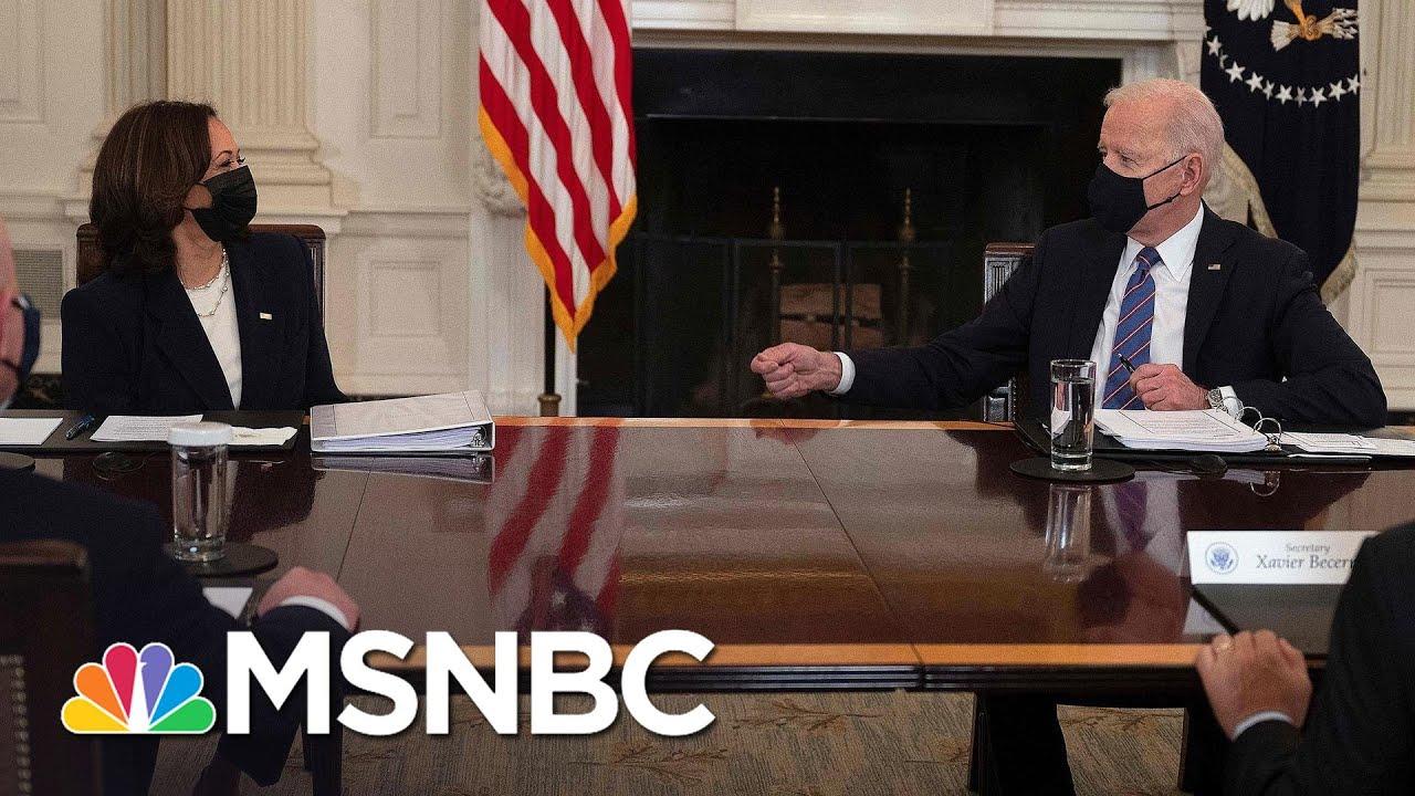Migrant Surge: Harris Will Lead On Addressing Border Crisis   MSNBC 6
