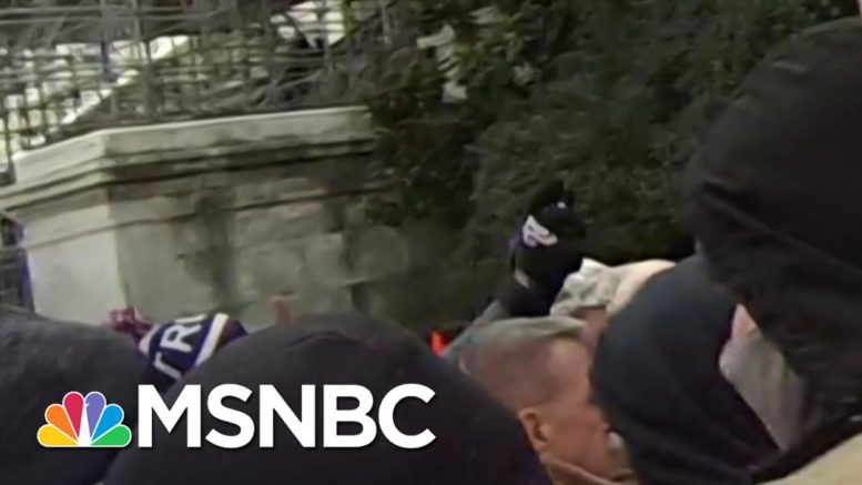 New York Times Video Shows Officer Sicknick Attacked In Capitol Riots | Katy Tur | MSNBC 1